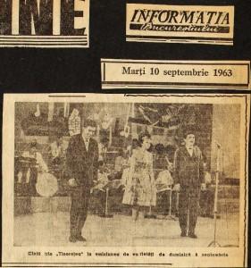 Margareta Paslaru - Noi discuri, despre Mamaia si emisiune TV 08.09.1963,