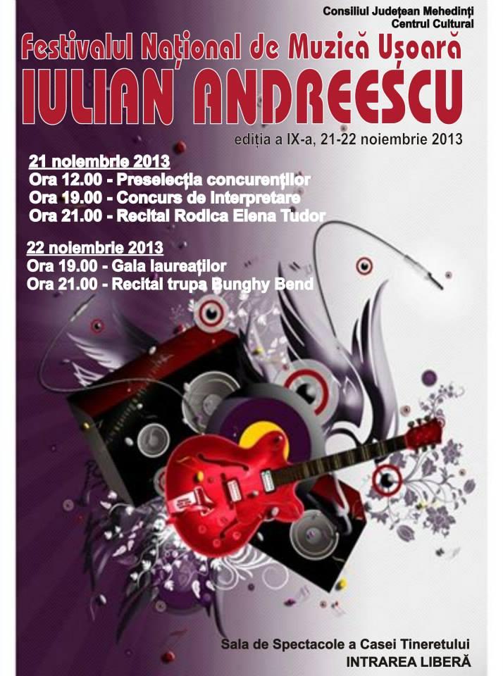 festivalul iulian andreescu