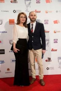 Carmen Anton-Juvina si Tom Wilson - Gopo 2014