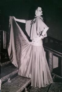 Carmen Anton la Sala Palatului în 1981.